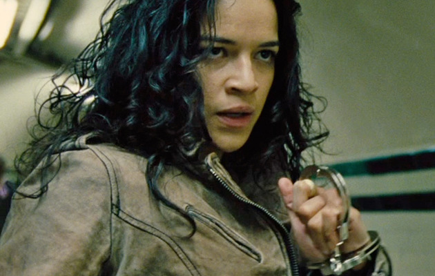"Michelle Rodriguez Steals Show In New ""Fast & Furious 6"" Clips"