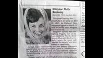 Margaret Groening Dead -- Marge Simpson Namesake Dies at 94