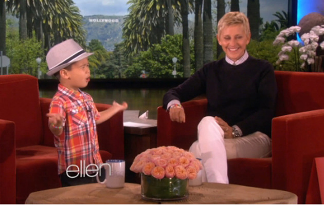 Viral Video: Adorable Four-Year-Old Serenades Ellen!