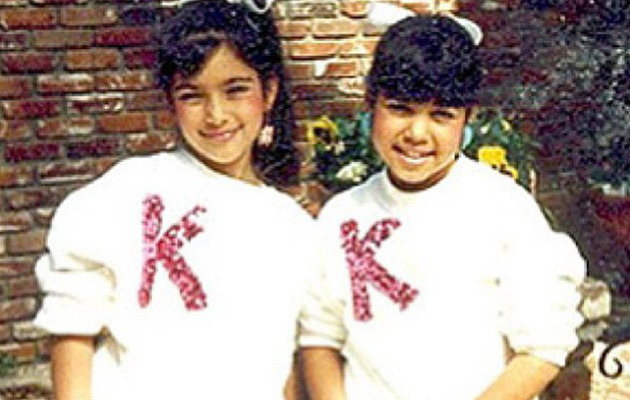 Throwback Thursday: See Kim & Kourtney Kardashian as Little Girls!