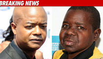 Todd Bridges Attends Gary Coleman Memorial