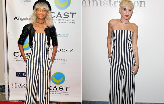 Dueling Duds: Willow Smith vs. Miley Cyrus!