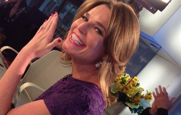Savannah Guthrie Engaged to Mike Feldman -- See the Ring!