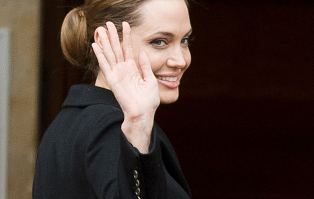 Photos: Angelina Jolie Remained Positive in Public During Double Mastectomy