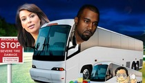 Kim Kardashian -- I'm Taking the Baby ... ON TOUR WITH KANYE