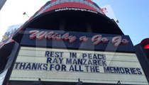 Ray Manzarek -- Legendary Rock Club Whisky a Go Go Honoring Doors Death