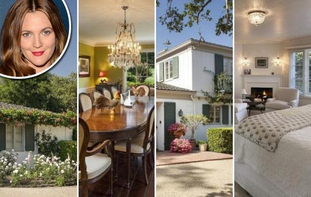Drew Barrymore Selling Santa Barbara Hideaway!