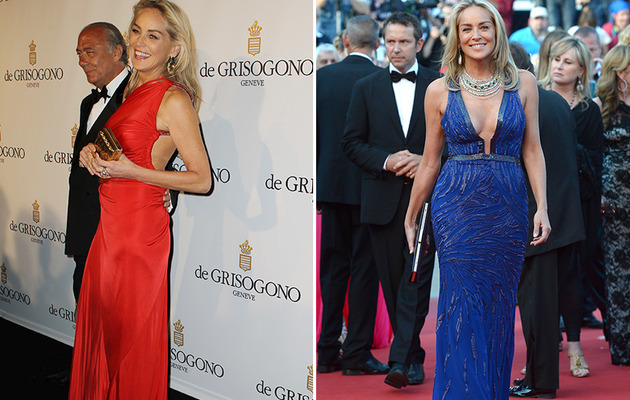 Sharon Stone Looks Super Sexy at Cannes!
