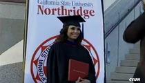 Eva Longoria GRADUATES -- I'm a MASTER of Chicano Studies