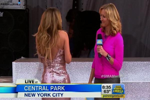 Mariah Carey Has Wardrobe Malfunction on Live TV
