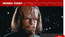 "Worf in ""Star Trek: The Next Generation"": 'Memba Him?!"