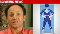Blue Power Ranger: I Quit Show Over Gay Insults