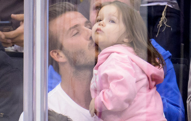 David Beckham Kiss Cam Video Is Cutest Thing Ever
