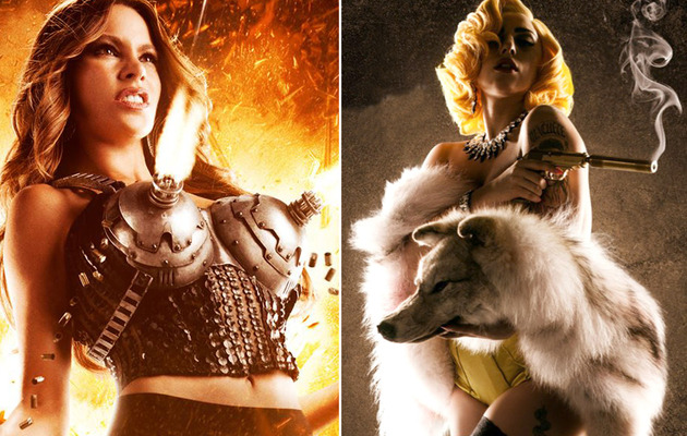 """Machete Kills"" Trailer: Gun Bras, Mel Gibson and Lady Gaga!"