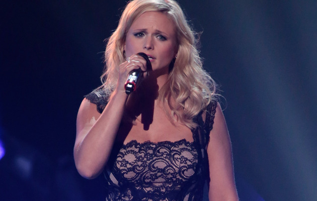 Miranda Lambert Tears Up During Oklahoma Benefit Show