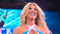 TNA Female Wrestler -- REAL DAMAGE ... After BRUTAL Match
