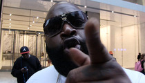 Rick Ross -- Bullies His Way Onto TMZ