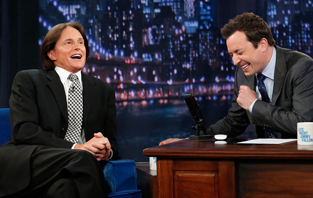 Bruce Jenner Lashes Back at Face Jokes on Jimmy Fallon