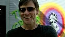 Jim Carrey Proves GOOD BOSSERY -- Officials YANK Art Studio Fine