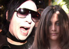 Marilyn Manson to Paris Jackson -- You're ALWAYS Welcome At My Shows