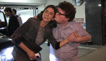 'Twilight' Star Nikki Reed -- Fights Off CREEPY Kiss from 'Go Daddy' Nerd