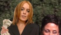Lindsay Lohan -- I Paid My Lawyer Shawn Holley!!!
