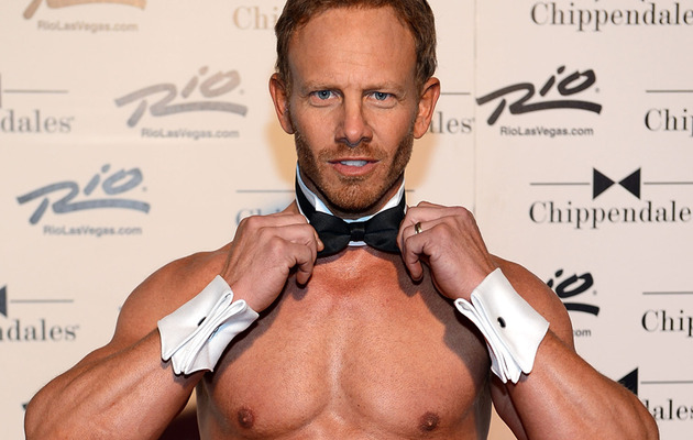 Ian Ziering Makes His Chippendales Debut -- See the Pics!
