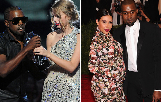 Kanye West Talks Taylor Swift Incident & Kim Kardashian