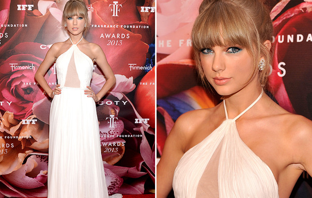 Taylor Swift Stuns at Fragrance Foundation Awards!