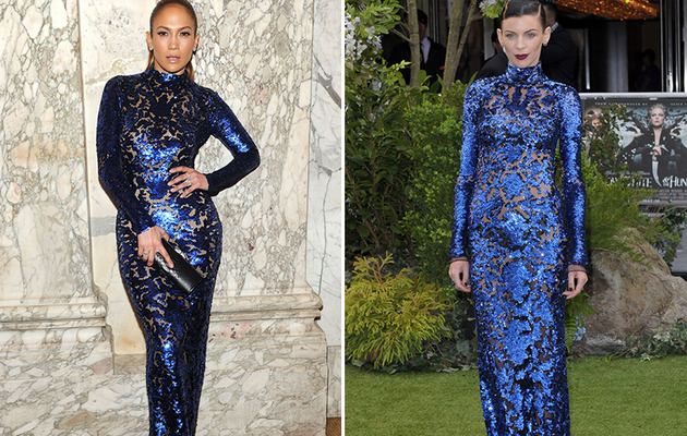 Dueling Dresses: Jennifer Lopez vs. Liberty Ross!