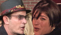 Charlie Sheen -- At War With Selma Blair ... She's FIRED!