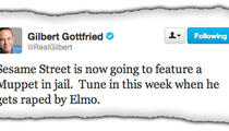 Gilbert Gottfried -- And Here's a Muppet Rape Joke ...