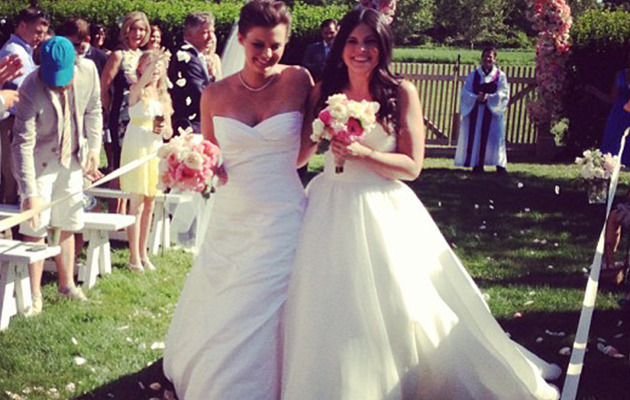"""America's Next Top Model"" Star Kim Stolz Gets Married"