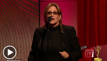 Carrie Fisher -- Acid Flashback at the Daytime Emmys