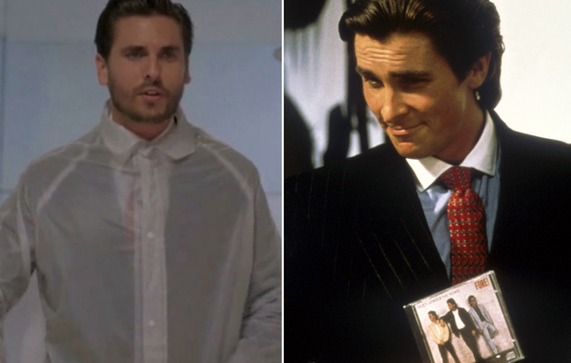 "Kanye West Releases ""American Psycho"" Video with Scott Disick"
