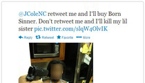 J. Cole -- Gun-Toting Twitter Fan Investigated By Police