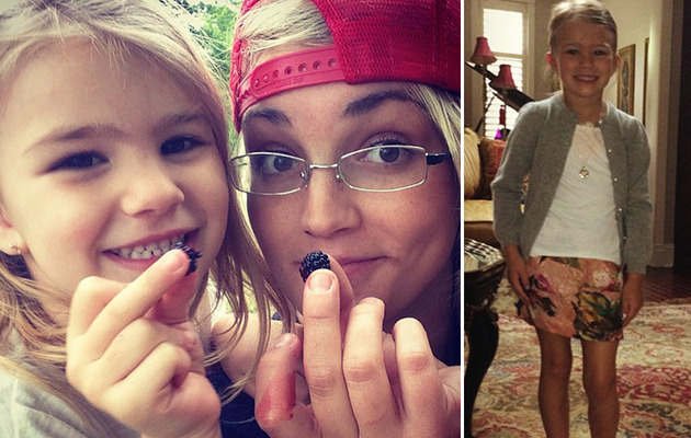 Maddie Spears Turns 5 -- See How She's Grown!