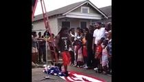 Lil Wayne -- I Didn't Step On the American Flag On Purpose!