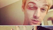 Aaron Carter -- I Got JUMPED ... Over 'NKOTB' Turf War