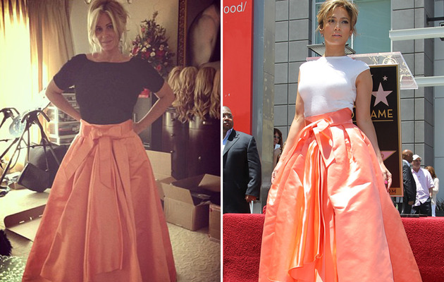 Dueling Dresses: Kim Zolciak-Biermann vs. Jennifer Lopez!