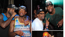 Spike Lee -- Superfan Turns Traitor ... Parties with Miami Heat