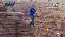 Nik Wallenda Grand Canyon High-Wire Act -- THANK YOU JESUS!!!