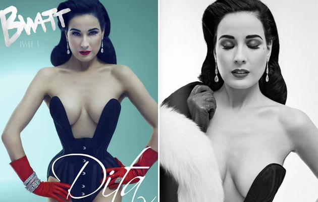 Dita Von Teese Flaunts Figure, Talks Stripper Past!