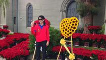 Michael Jackson's Grave -- FLOWERS EVERYWHERE On Death Anniversary