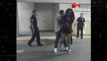 Chris Brown Accuser -- Video Shows Her Walking on 'Injured' Leg