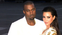 Kim Kardashian -- $2 Million Baby Photo Switcheroo