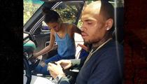Chris Brown -- Rear-Ending Miss Russia-LA, Not As Fun As It Sounds