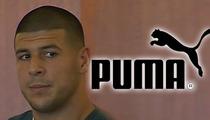 Aaron Hernandez -- Dropped By Puma