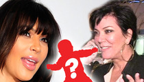 Kim Kardashian -- Kris Jenner's Talk Show Won't Go in North West Direction