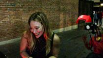 Hilary Duff -- Paparazzo Goes Down ... HARD!